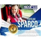 FOTELIK SAMOCHODOWY SPARCO F1000K 9-36 kg