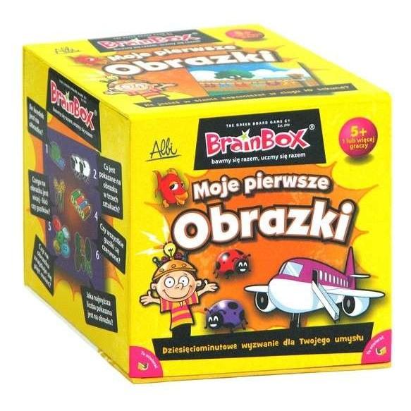 BrainBox Moje pierwsze obrazki - gra na spostrzegawczość