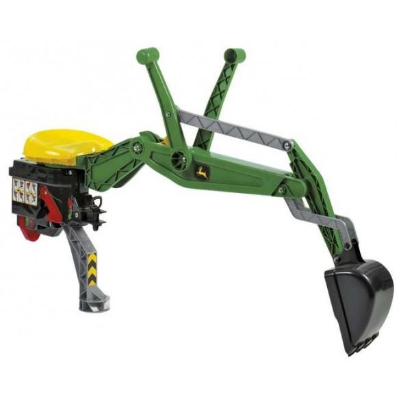 Rolly Toys Koparka do traktora zielona
