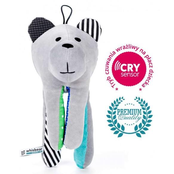 Whisbear - Szumiący Miś z funkcją CRYsensor (turkus)