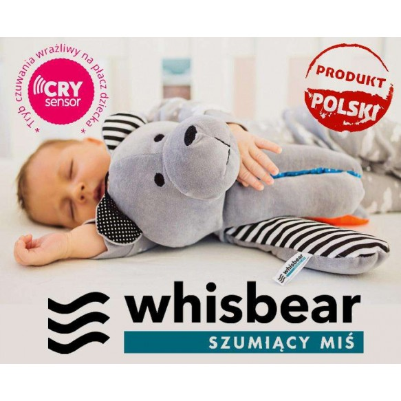 Whisbear - Szumiący Miś z funkcją CRYsensor PREMIUM