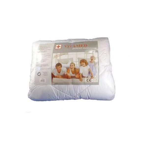 Wypełnienie Poldaun VITAMED pościel medyczna kołdra + poduszka komplet całoroczny