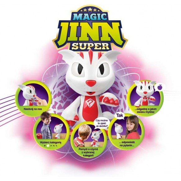 Super Magic Jinn Czyta w myślach 5w1 Dumel