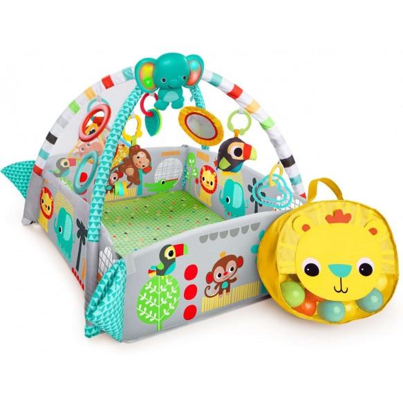 Plac Zabaw Fikająca Małpka z piłeczkami