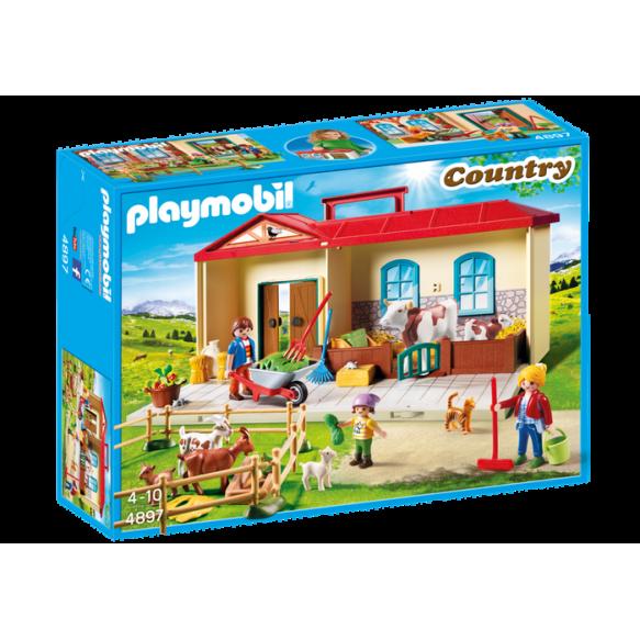 Playmobil 4897 Przenośne gospodarstwo rolne 2017