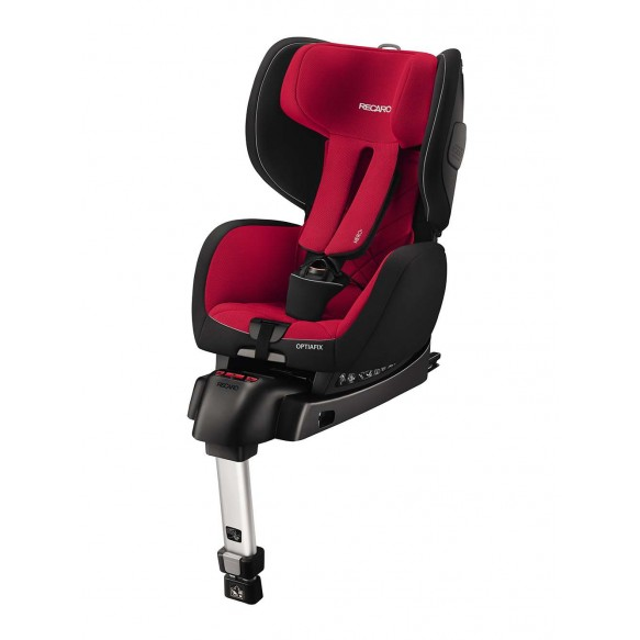 Fotelik 2017 RECARO OPTIA-fix 9-18kg Racing Red