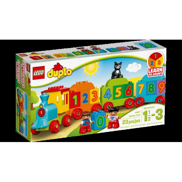LEGO DUPLO 10847 Pociąg z cyferkami