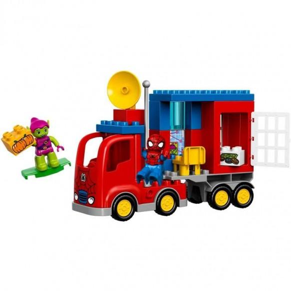 Klocki LEGO DUPLO 10608 Ciężarówka Spider - Mana