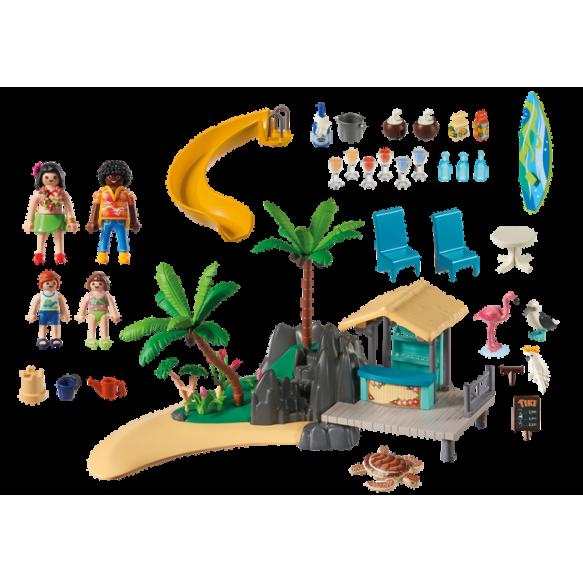 Karaibska wyspa z barem na plaży 6979 Playmobil