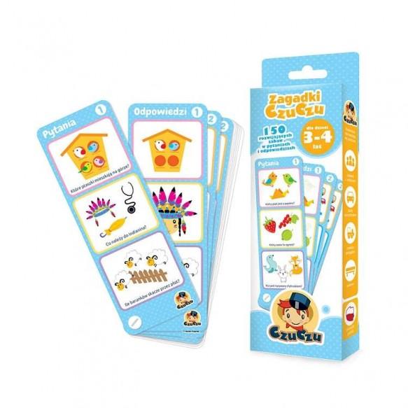 CzuCzu, Zagadki dla dzieci w wieku 3-4 lat