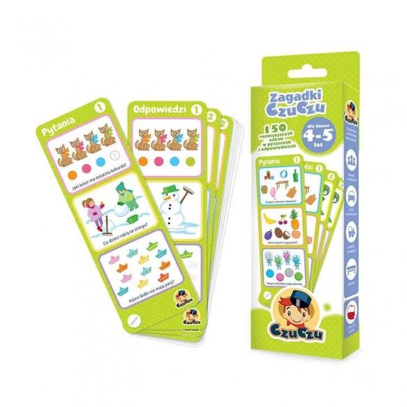 CzuCzu, Zagadki dla dzieci w wieku 4-5 lat