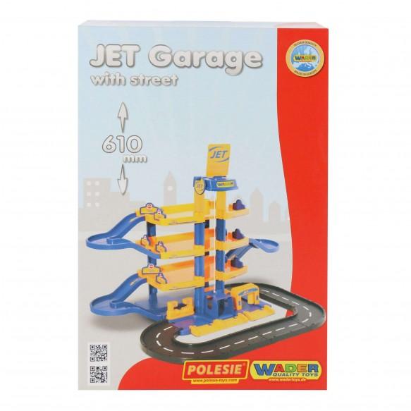 """Parking """"JET"""" 4-poziomowy z drogą (pudełko)"""