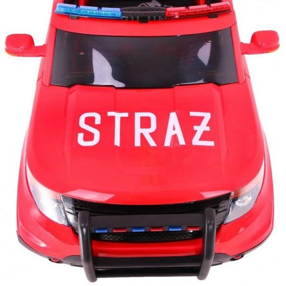 Pojazd SUV Polska Straż Pożarna