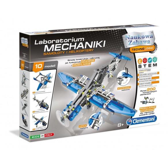 Clementoni Laboratorium Mechaniki – Samoloty i Helikoptery