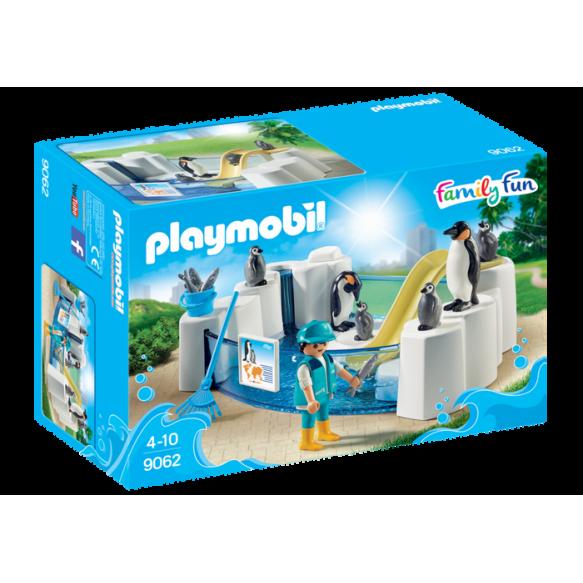 PLAYMOBIL 9062 Basen dla pingwinów