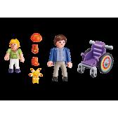 PLAYMOBIL 6663 Dziecko na wózku inwalidzkim