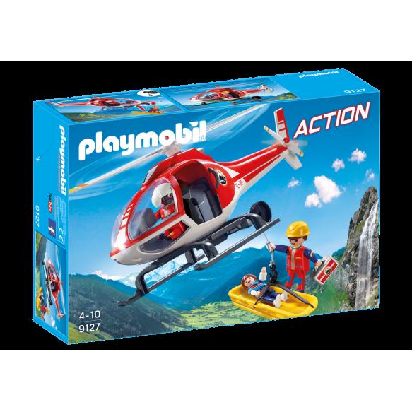 PLAYMOBIL 9127 Helikopter ratownictwa