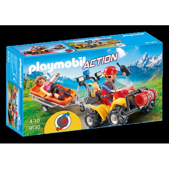 PLAYMOBIL 9130 Quad ratownictwa górskiego
