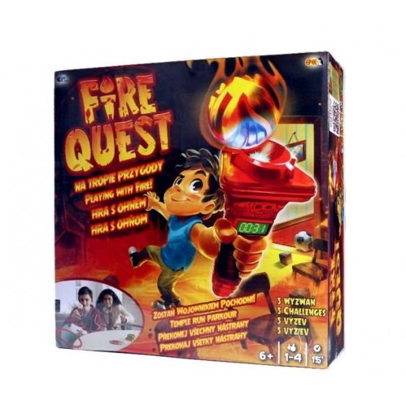 Fire Quest - Na tropie przygody - gra elektroniczna