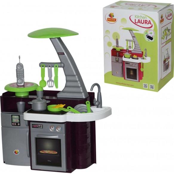 """Zestaw """"Kuchnia Laura"""" z kuchenką (pudełko)"""
