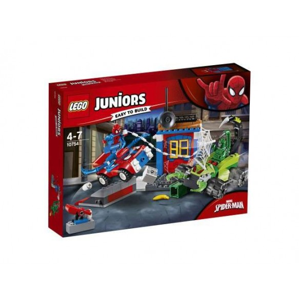 LEGO Juniors 10754 Spider-Man kontra Skorpion