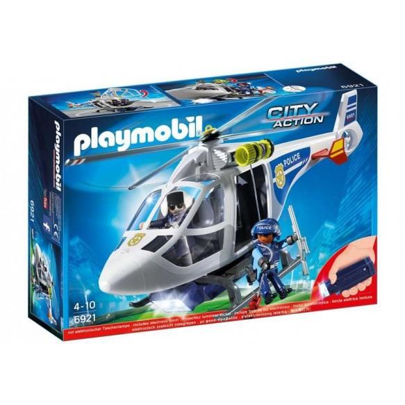 PLAYMOBIL 6921 Helikopter policyjny-babyland lodz