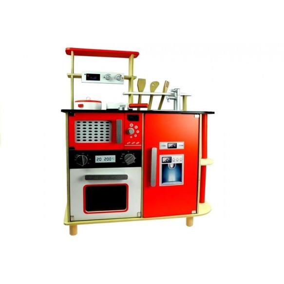 Kuchnia drewniana 78cm Zosia + Akcesoria