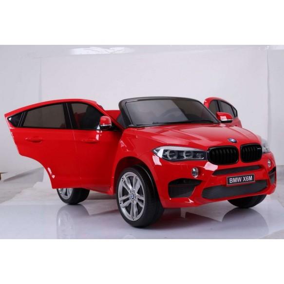 Pojazd BMW X6M Czerwony