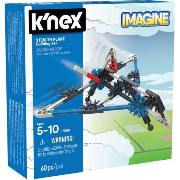 K'nex Imagine Samolot Stealth - zestaw konstrukcyjny
