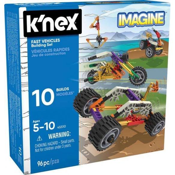 K'nex Imagine szybkie pojazdy