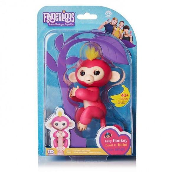 Fingerlings – Małpka Bella Różowa