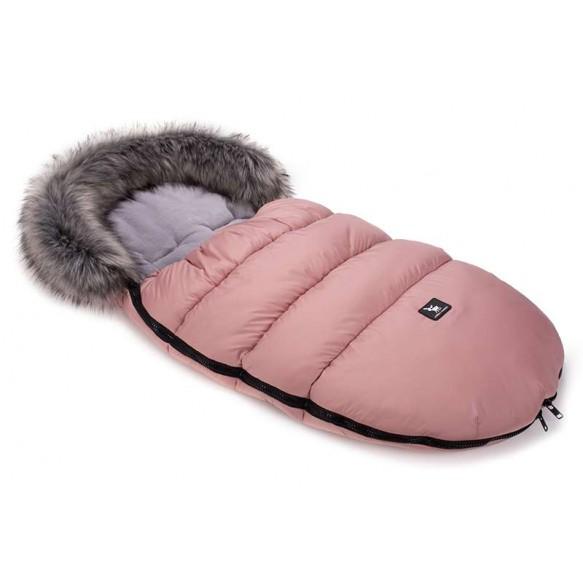cottonmoose Śpiwór zimowy - Moose róż - szary-nowy