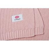 Le Pampuch kocyk dziany bawełniany różowy