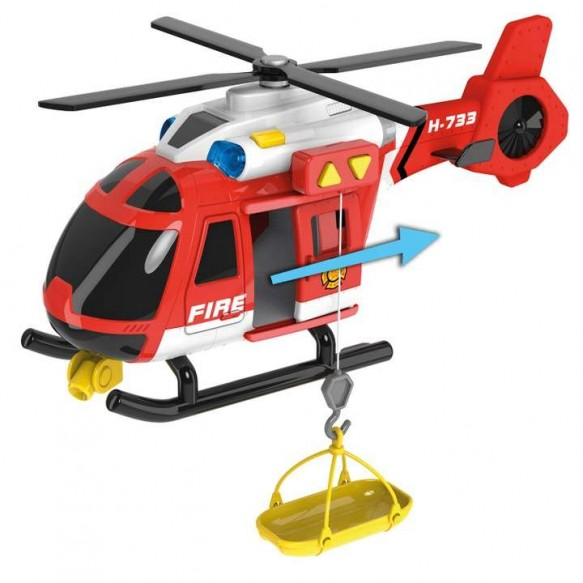 Dumel Flota Miejska Helikopter Strażacki