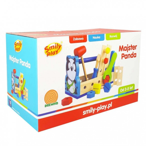 MAJSTER PANDA SMILY PLAY