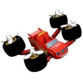 Blaze czerwony monster truck