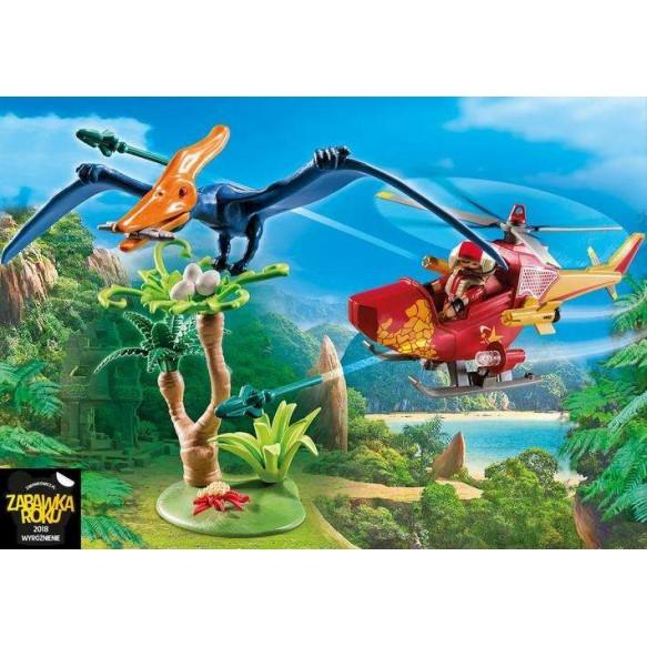 Playmobil 9430 Helikopter z pterodaktylem