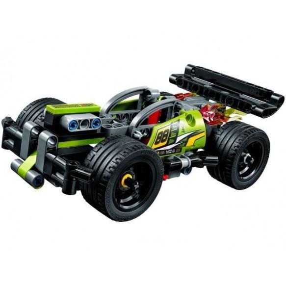 Żółta wyścigówka LEGO Technic 42072