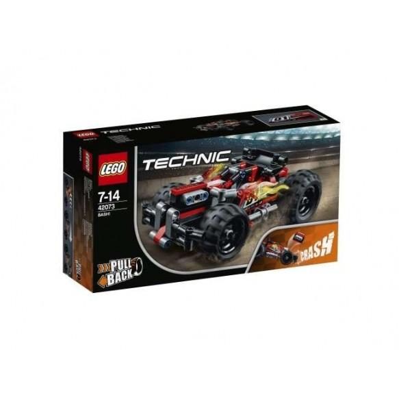 Czerwona wyścigówka LEGO Technic 42073