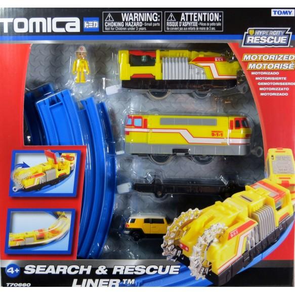 Kolejka elektryczna Search&Rescue Liner Tomica TOMY