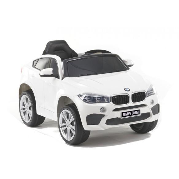 Auto na Akumulator BMW X6 Czerwone Skóra, EVA lakier