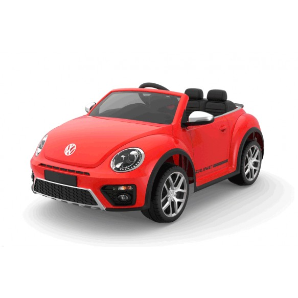 Auto na Akumulator S303 Volkswagen Beetle Czerwony