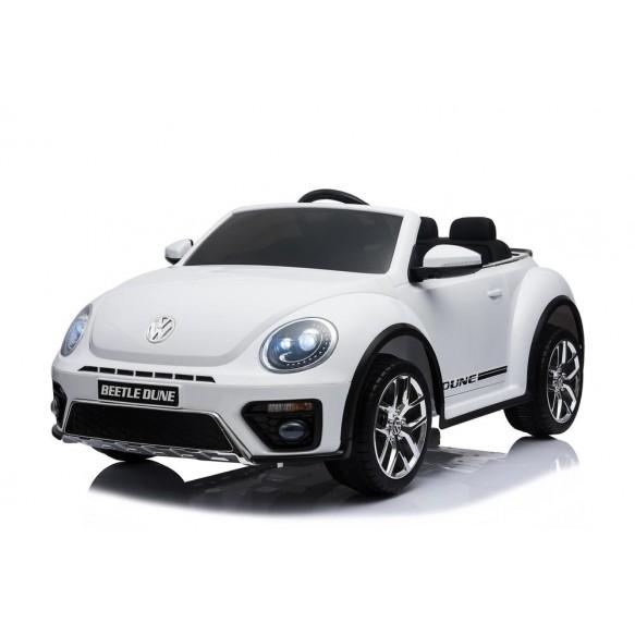 Auto na Akumulator S303 Volkswagen Beetle Biały