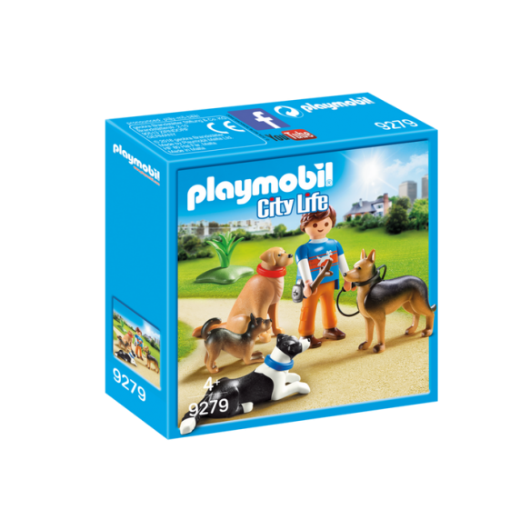 PLAYMOBIL 9279 TRENER PSÓW