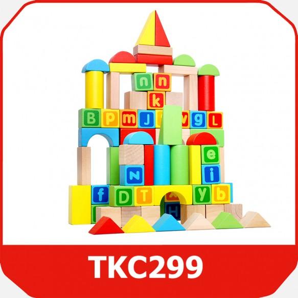 Tooky Toy Klocki Mix
