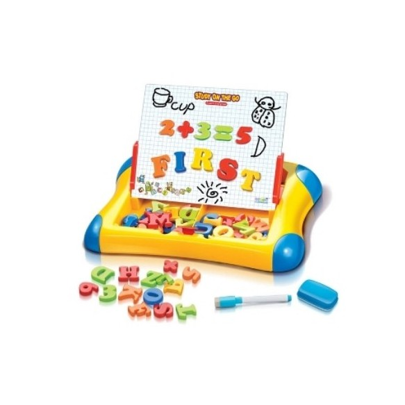 Smily Play Tablica magnetyczna ABC+123
