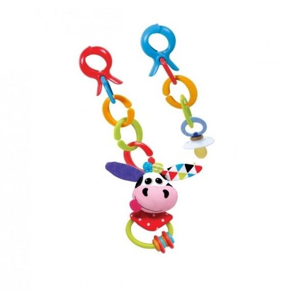 Yookidoo Grzechotka z Klipsami Krowa