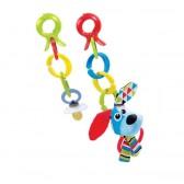 Yookidoo Grzechotka z Klipsami Pies