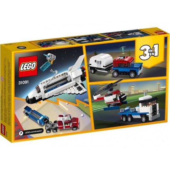 Lego creator  31091 Transporter promu