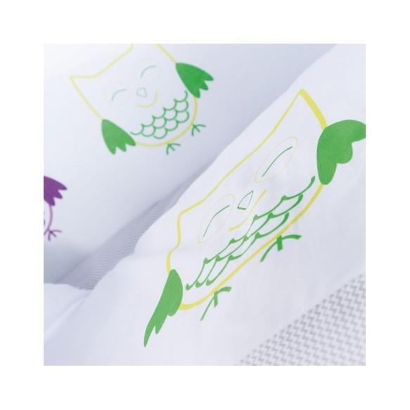 Pościel 3-el drukowana Albero Mio by Klupś - Sowa K044